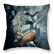 Abstract 55902192 Throw Pillow