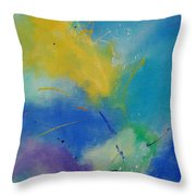 Abstract 564897 Throw Pillow