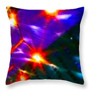 Abstract 5889 Throw Pillow