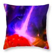 Abstract 5890 Throw Pillow