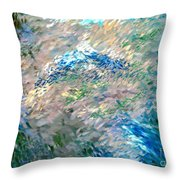 Abstract 6-03-09 A Throw Pillow