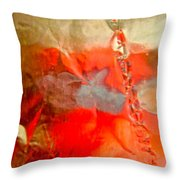Abstract 6043 Throw Pillow