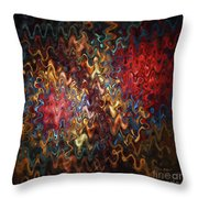Abstract 60816 Throw Pillow