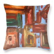 Abstract 611 Throw Pillow