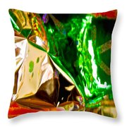 Abstract 6135 Throw Pillow
