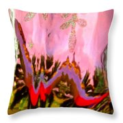 Abstract 6137 Throw Pillow