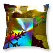Abstract 6162 Throw Pillow