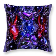 Abstract 62316.6 Throw Pillow