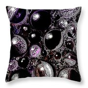 Abstract 63016.10 Throw Pillow