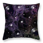 Abstract 63016.11 Throw Pillow