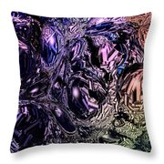 Abstract 63016.13 Throw Pillow