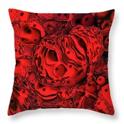 Abstract 63016.2 Throw Pillow