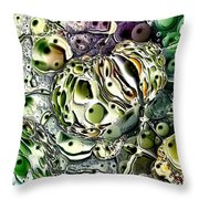 Abstract 63016.3 Throw Pillow