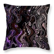Abstract 63016.7 Throw Pillow