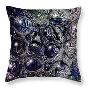 Abstract 63016.9 Throw Pillow