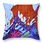 Abstract 6497 Throw Pillow