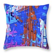 Abstract 6499 Throw Pillow