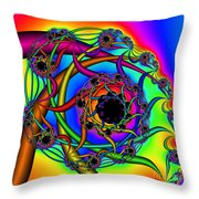 Abstract 65 Throw Pillow