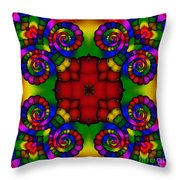 Abstract 651 Throw Pillow