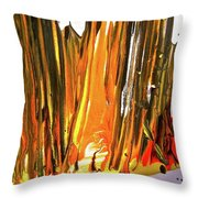 Abstract 6535 Throw Pillow