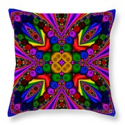 Abstract 659 Throw Pillow