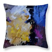 Abstract 660101 Throw Pillow
