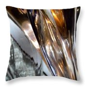 Abstract 661 Throw Pillow