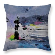 Abstract 6611602 Throw Pillow