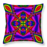 Abstract 663 Throw Pillow