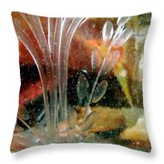 Abstract 669 Throw Pillow