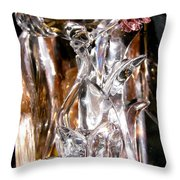 Abstract 673 Throw Pillow