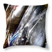 Abstract 676 Throw Pillow