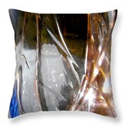 Abstract 681 Throw Pillow