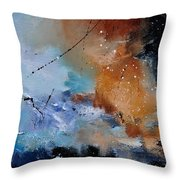 Abstract 684124 Throw Pillow