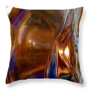 Abstract 687 Throw Pillow