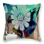 Abstract 6875 Throw Pillow