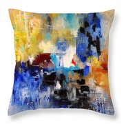 Abstract 69070 Throw Pillow