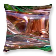 Abstract 691 Throw Pillow