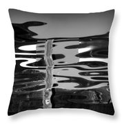 Abstract 6b Throw Pillow