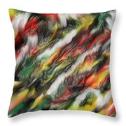 Digital Abstract #7  Throw Pillow