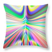 Abstract 701 Throw Pillow