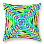 Abstract 709 Throw Pillow