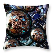 Abstract 71216.2 Throw Pillow
