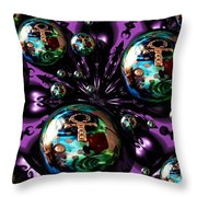 Abstract 71216.5 Throw Pillow