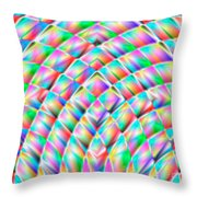 Abstract 713 Throw Pillow
