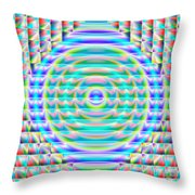 Abstract 717 Throw Pillow