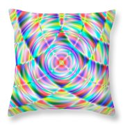 Abstract 722 Throw Pillow