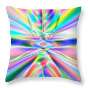 Abstract 723 Throw Pillow