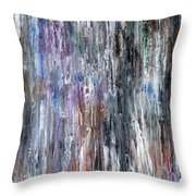 Abstract 741 Throw Pillow