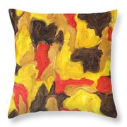 Abstract 746 Throw Pillow